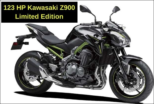 Limited Edition of 123 Horse Power Kawasaki Z900 bike launched in India