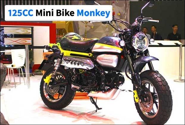2017's 125cc Mini Bike 'Monkey' showcased in Vietnam