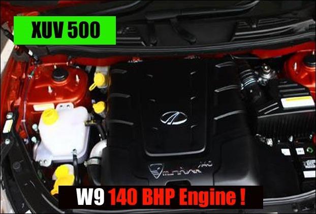 2.2L mHawk diesel engine which generates 140 BHP power