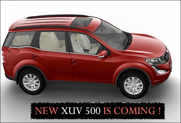 Mahindra XUV500 with 170 BHP engine is coming soon !