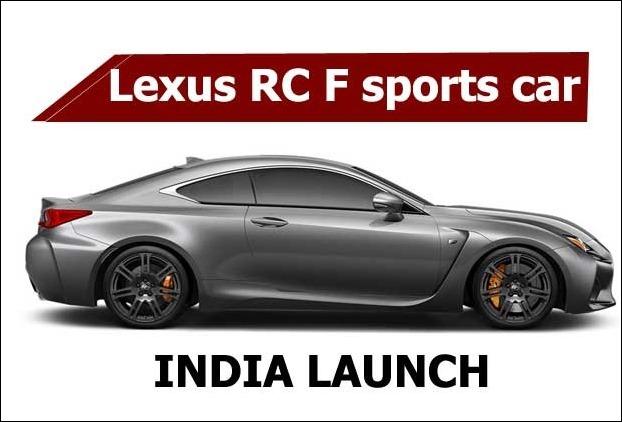 467 HP Lexus RC F luxury sports car has got 8-speed automatic gearbox