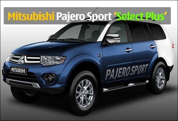 2017 Mitsubishi Pajero Sport 'Select Plus'' variant launched in 4 colours