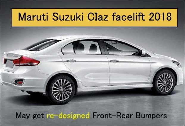 Maruti Suzuki CIaz facelift 2018 is an eagerly awaited Upcoming cars in India 2018-19 under 10 lakhs range