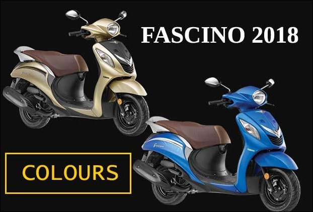 Yamaha Fascino colours 2018 - 2 New Additions