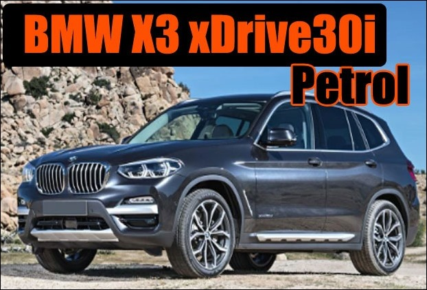 BMW X3 xDrive30i petrol engine SUV