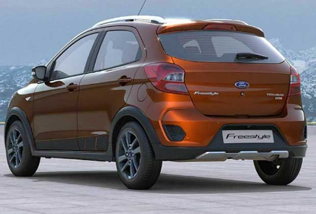 Recently updated, Ford Freestyle crossover received a new colour 'Ruby Red' for the Navratri and Diwali festive season 2018