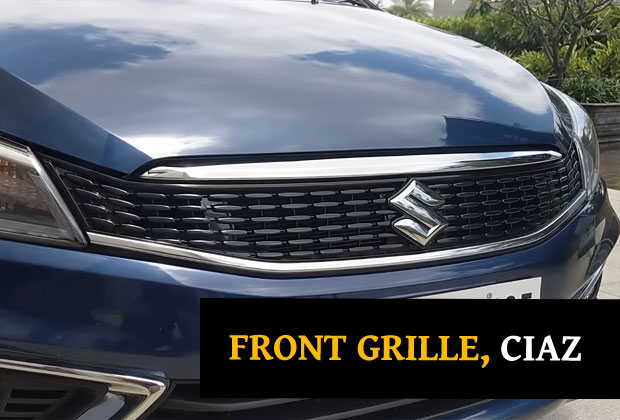 Front griller Maruti Suzuki CIaz 2018 facelift model