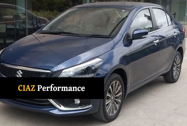 Performance and Fuel Mileage of Ciaz 2018