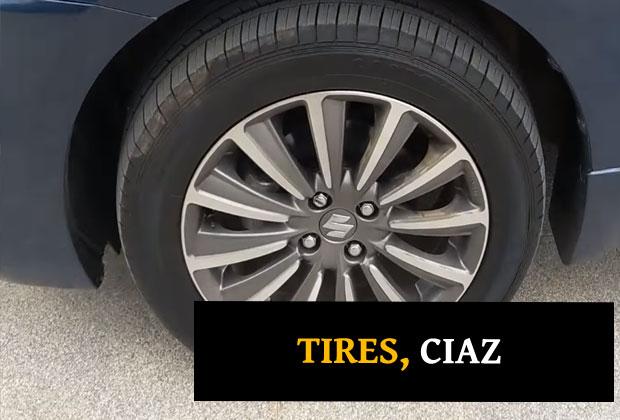 16' Alloy Wheels of Maruti Ciaz 2018 facelift