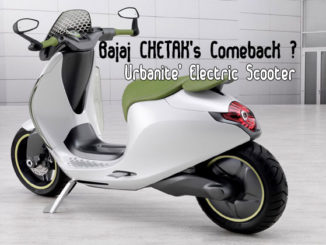 Electric Avatar of Bajaj Chetak Scooter Model
