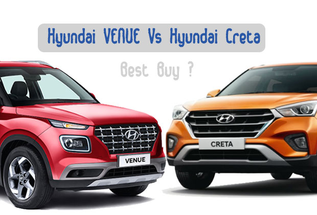 Comparing Hyundai Venue and Hyundai Creta features