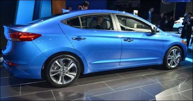 Hyundai Elantra  '6th generation' 2016 launched in India