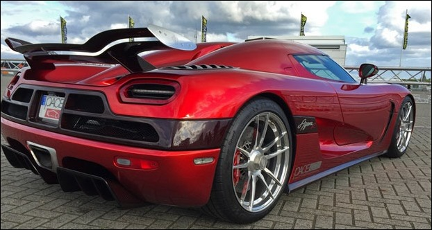 Koenigsegg Agera India