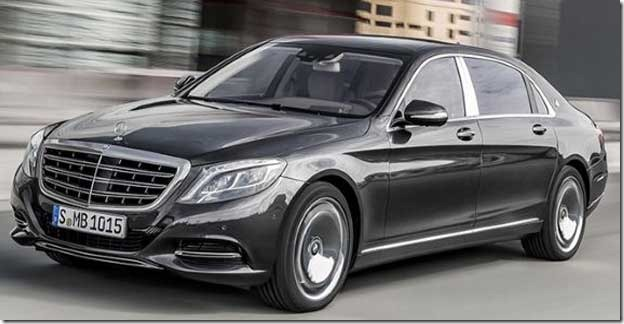 Mercedes Benz launched the ultra luxurious- Maybach S600 in India