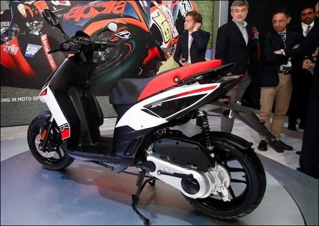 154cc Aprilia SR 150 scooter is the 'least inexpensive'  model by the company in India