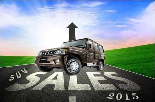 Bolero still rules the suv segment with highest sale figure in June 2015