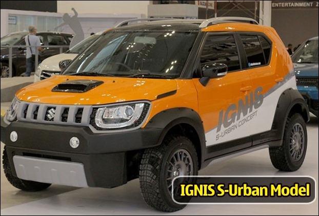 IGNIS S-Urban Off-road Concept Model
