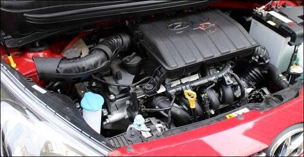 1.2- litre Kappa dual VTVT petrol engine of Hyundai Xcent