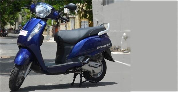 Suzuki Access 125 (124 cc) Scooter - 2016 Edition (RS 53,887)