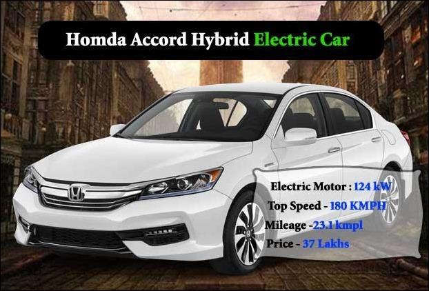 Honda Accord Hybrid EV in India