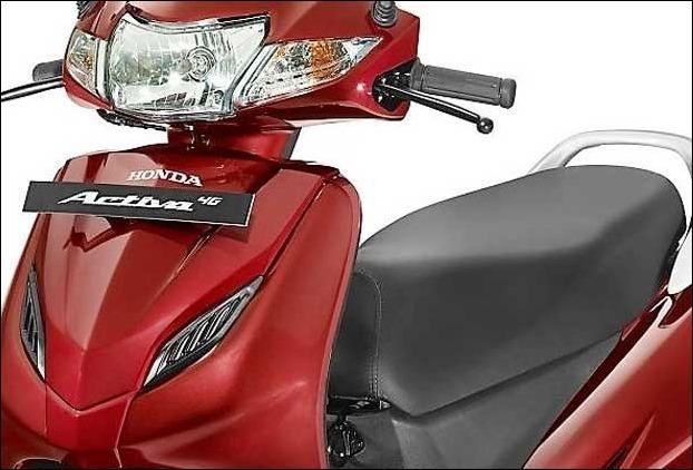 Honda Activa new nodel 2017 '4G' with 110cc Engine