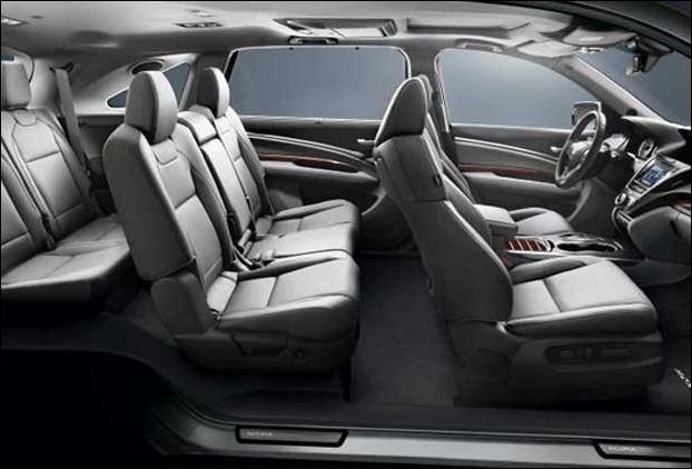 Seats of Acura MDX Sport Hybrid