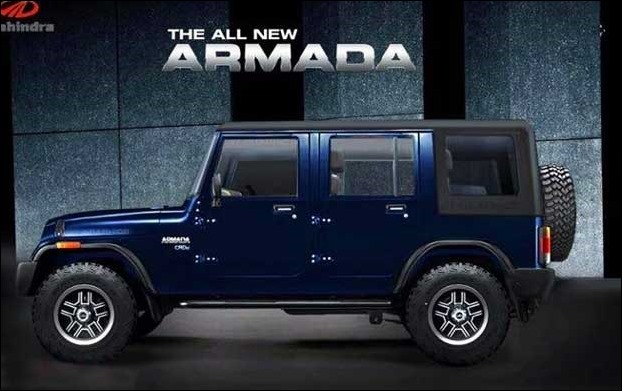 Mahindra S All New Armada 2017 Suv Looks Like Hummer