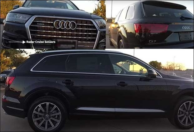The Front and Rear Exterior Look of 2017 Audi Q7