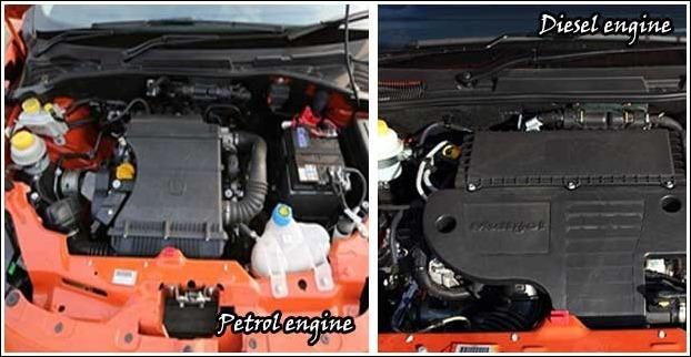 Avventura has 4-cylinder 1368cc petrol version as well as 1248 cc multijet diesel engine.