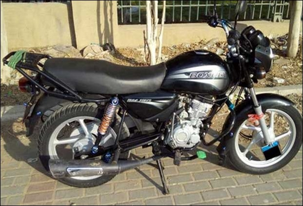 150 cc Bajaj boxer new model 'Boxer X 150' test is underway