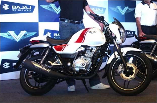 Bajaj V12 is a latest 125 cc bike from the company based on its popular V15 platform