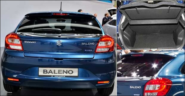 Baleno has a bootspace of 339 litres
