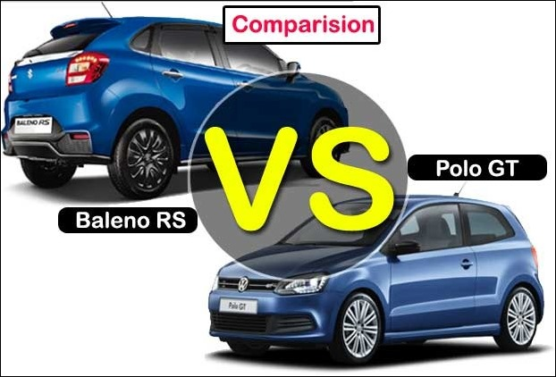 A Compare analysis of Maruti Suzuki Baleno RS VS Volkswagen Polo GT