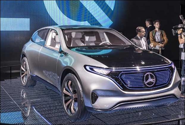 Mercedes Benz EQ electric car