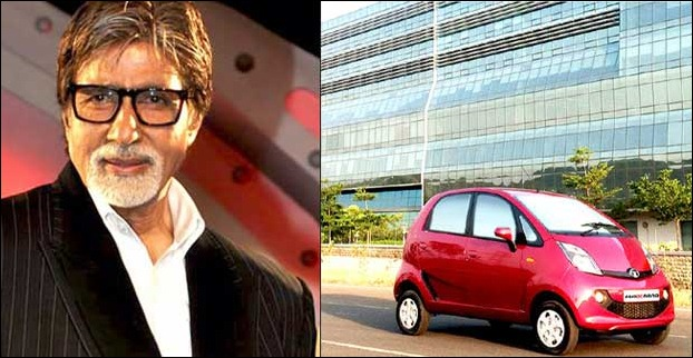 Amitabh Bachchan Purchases Tata Nano