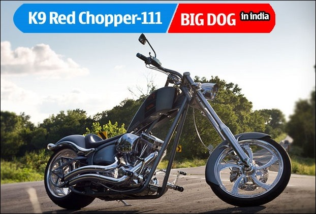 The stylish , powerful and expensive bike Big Dog K9 Amercian Chopper bike launched in India