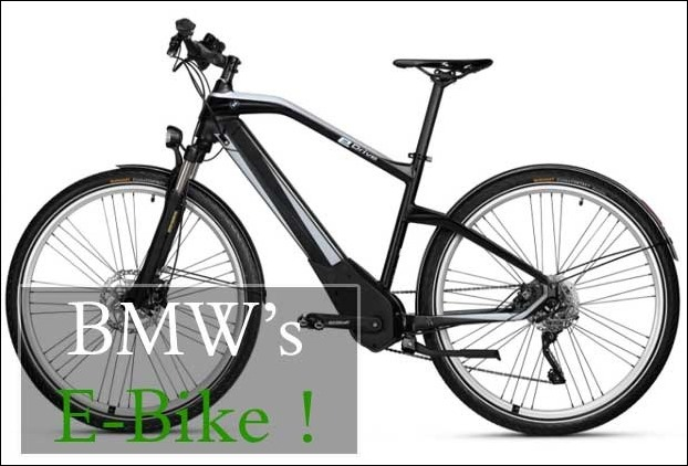 BMW's new electric bicycle delivers 100 km on full charge