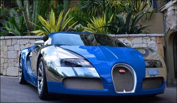 Bugatti Veyron 16.4 Grand Sport  India