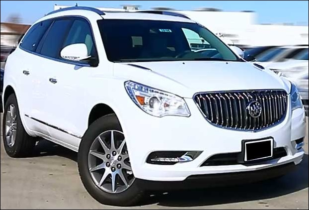Buick Enclave 2017 is not much different from Buick 2016