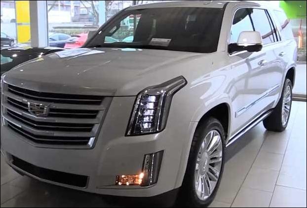 Front View of Cadillac Escalade
