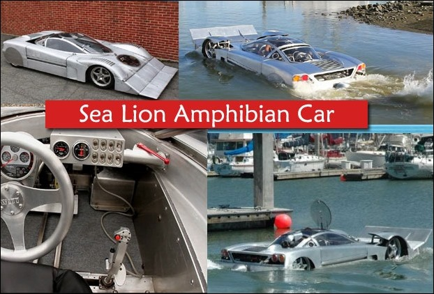 Sea Lion is considered as the world's fastest car running on water