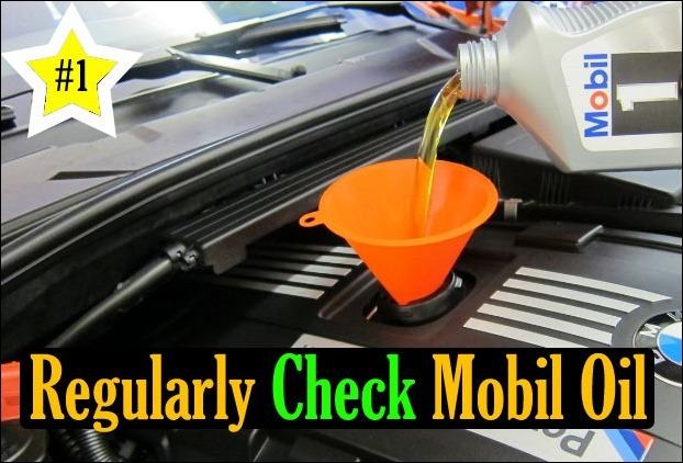 The entire performance of the car depends on the engine, and Mobil oil helps the engine run properly