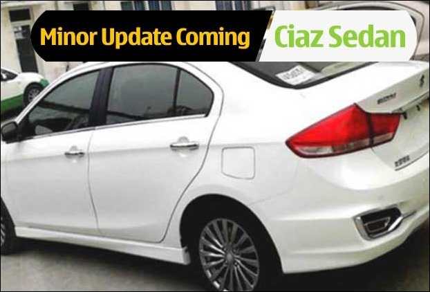 Maruti Suzuki Ciaz is due for a minor update while the car continues to register better sales despite being shifted to Nexa dealership