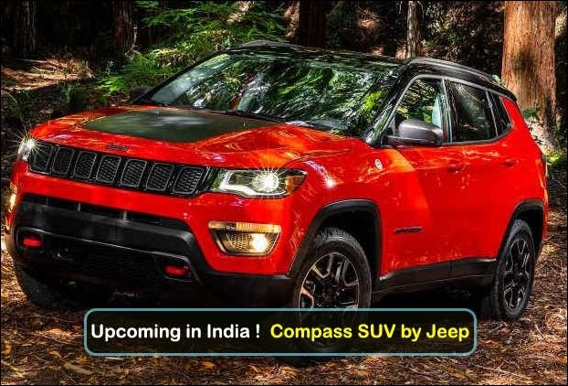 The right hand drive made-in-india version of Compass SUV is due for a launch next month in the country