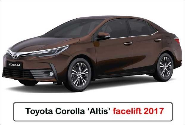 Toyota Corolla Altis 2017 Facelift Updated Model