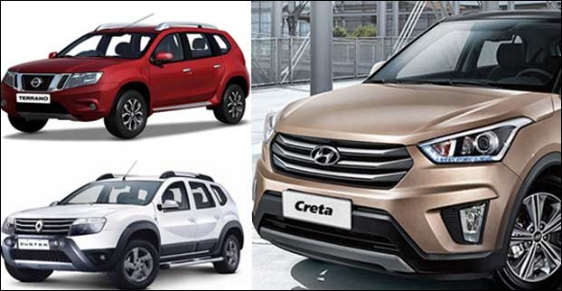 Hyundai Creta upsets the sales of Terrano and Duster