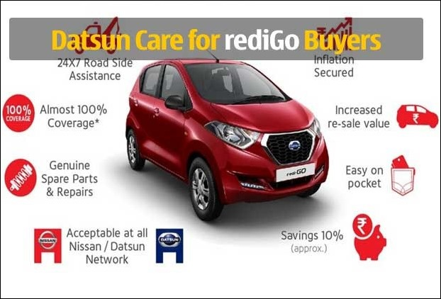 Datsun Launches 'Datsun CARE' for redi-GO customer Benefits