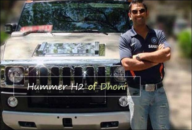 dhonis_hummer_h2_india