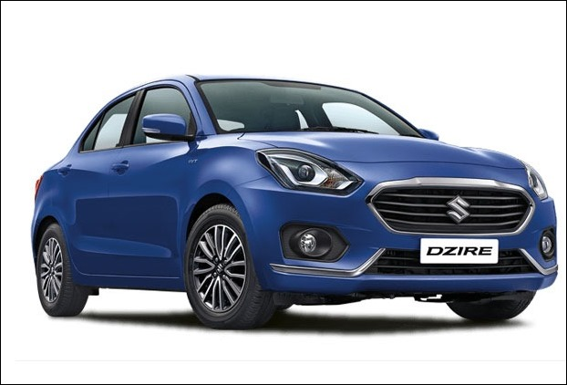 Maruti Suzuki Swift  Dzire Lxi has 378L boot space