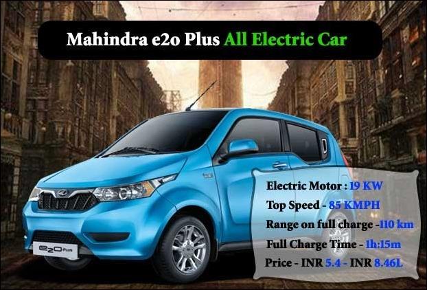 Mahindra E2o Plus Est Electric Car In India